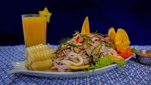 Eten als onderdeel van de Peruaanse cultuur - ceviche