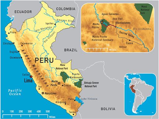 Geografie Peru
