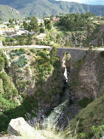 Inca brug van Chivay