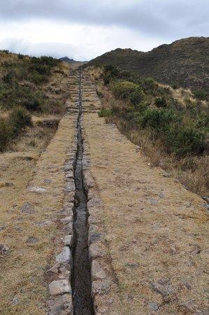 Inca kanaal van Tipón