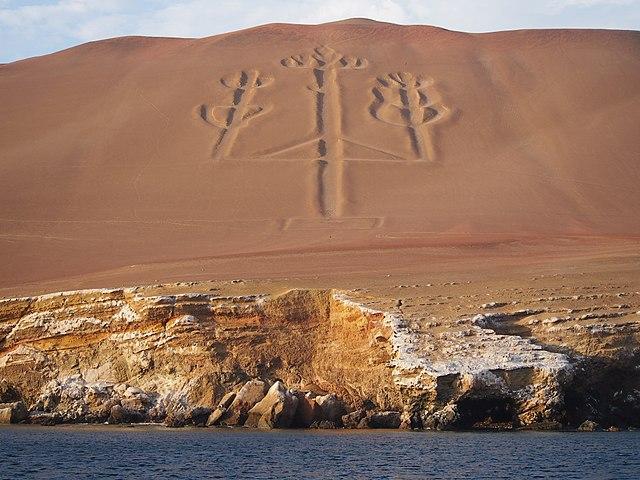 Kandelaar van Paracas