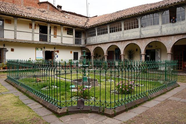 Koloniaal gebouw in Lima