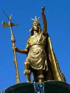 Manco Capac, voorvader van de inca's in de Peru geschiedenis