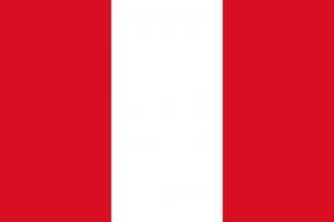 Nationale vlag van Peru