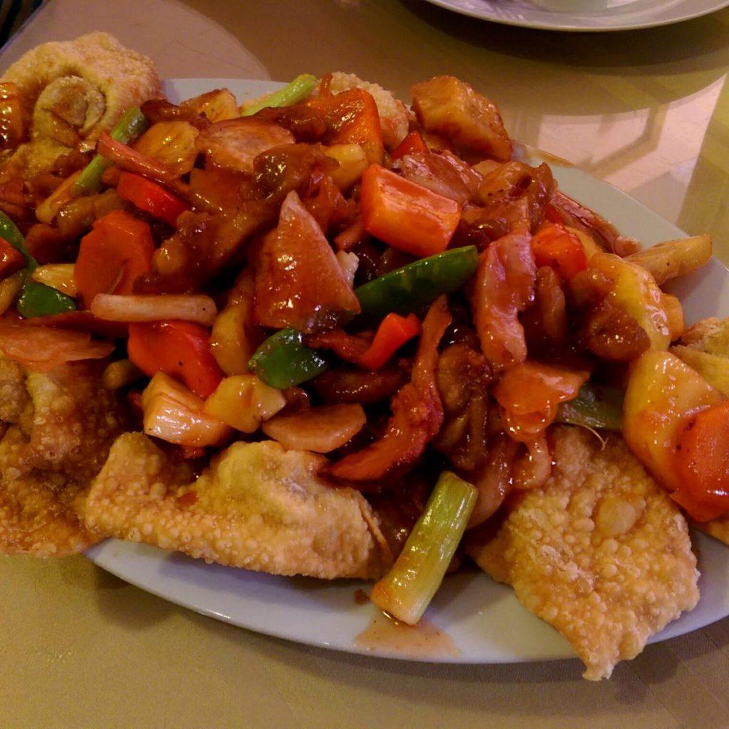 Peruaans eten: kam lu wantan