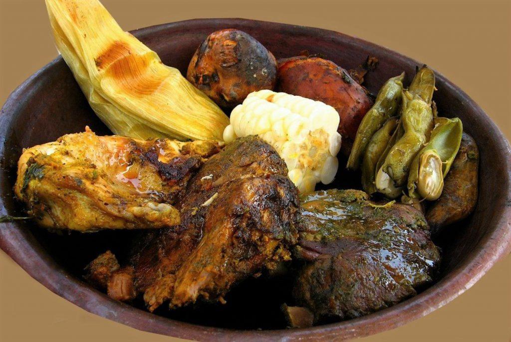 Peruaans eten: pachamanca