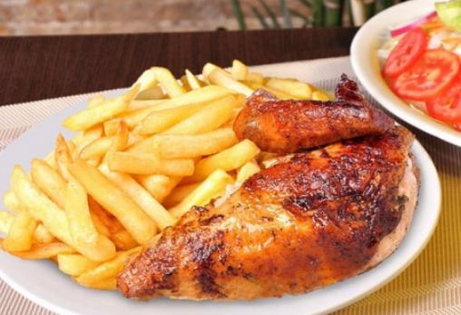 Peruaans eten: pollo a la brasa