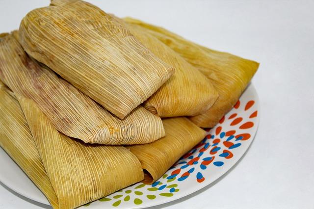 Peruaans gerecht: tamal
