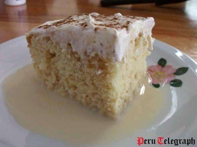 Peruaans eten: tres leches
