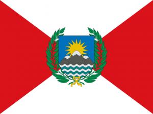 Peruaanse vlag van 1820 tot en met 1822