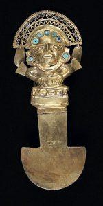 Tumi is een mes van de Sicán cultuur