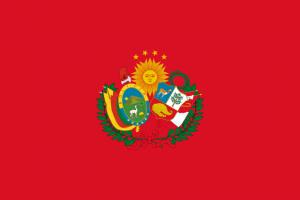 Vlag van Peruaanse-Boliviaanse confederatie