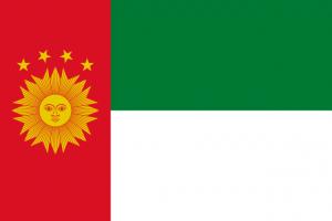 Vlag van Zuid Peru