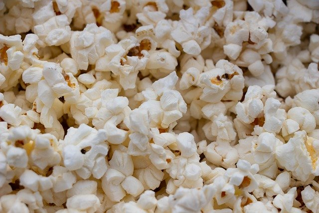 De inca's aten popcorn