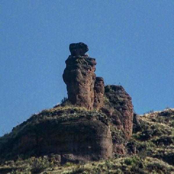 De steen van de legende van Pisac: Inkill Chumpi