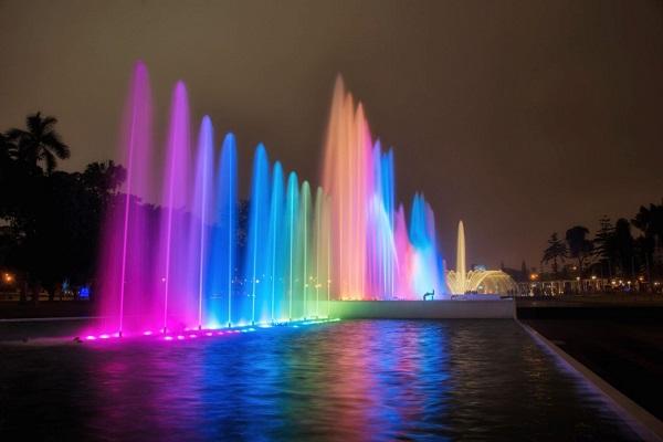 Fonteinen in Lima: fuente de la fantasia