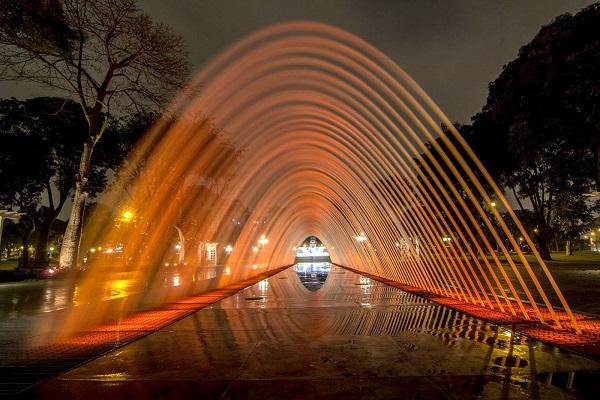Fonteinen in Lima: fuente tunel de las sorpresas