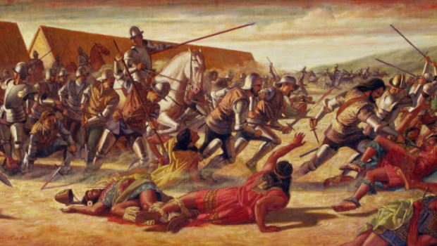 Het verhaal hoe de inca's zijn verdwenen