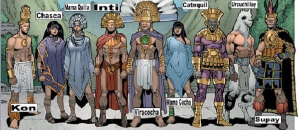 Inca goden