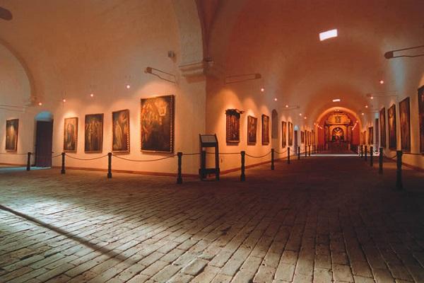 Kunstschatten Santa Catalina klooster