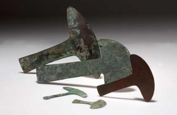 Oude tumi's uit de Moche cultuur