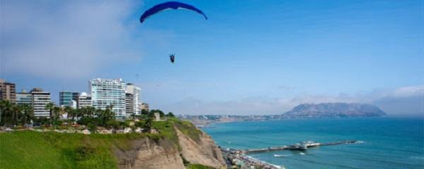 Paragliden Miraflores