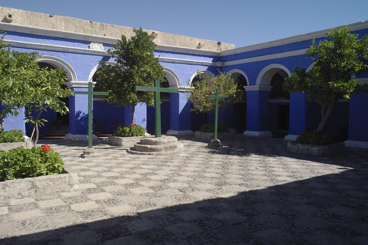 Plein in Santa Catalina klooster