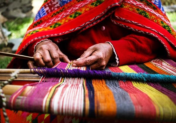 Weven in Chinchero